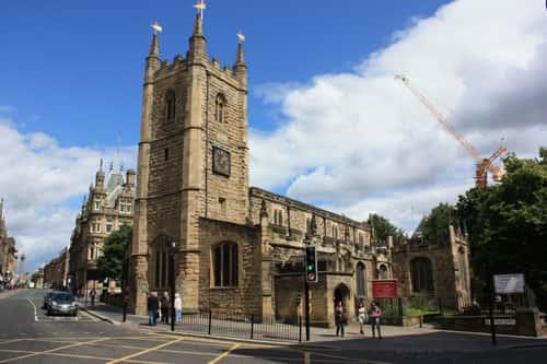 St John's Church Newcastle Photo: David Simpson