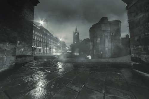 A Spooky Night in Newcastle.