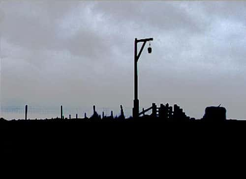 This 'gibbet' in Redesdale, Northumberland recalls a local murderer who was hanged at Westgate in Newcastle in 1791